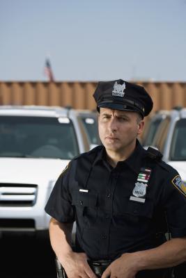 police photo frame editor