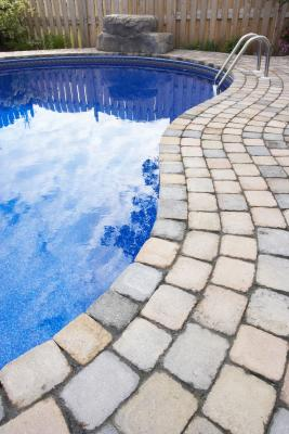 the best pavers for around saltwater pools | home guides | sf gate