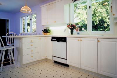 How to install vinyl floors over linoleum home guides for Used linoleum flooring