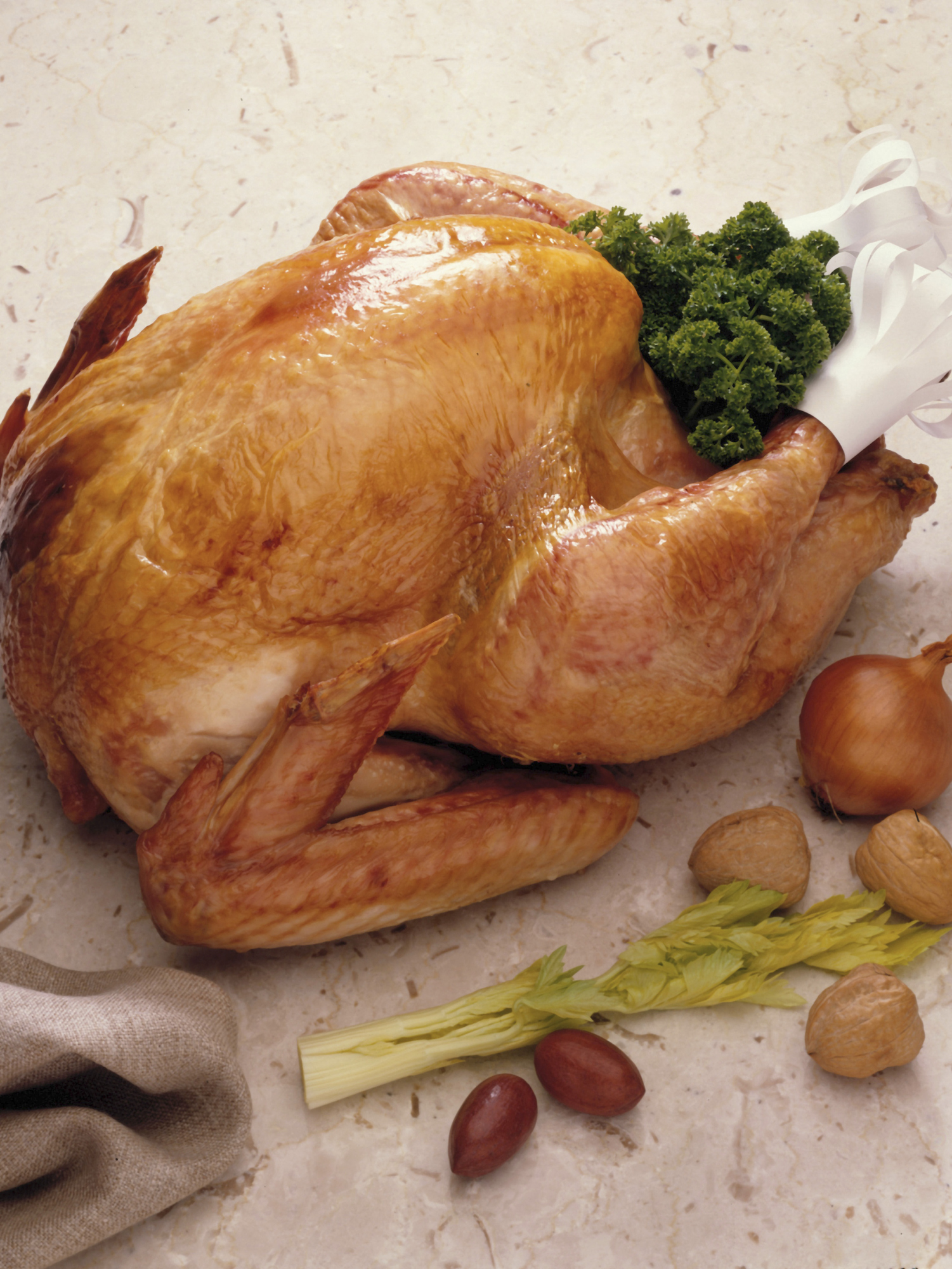 Chicken has the same amount of vitamin B-12 per serving as turkey.