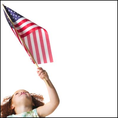 Flag etiquette for kids our everyday life for Flag etiquette at home