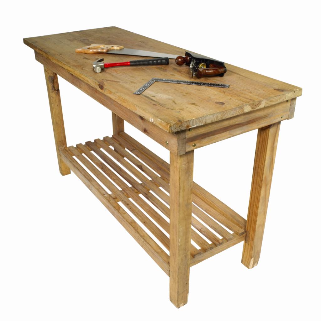 Como hacer mesas de madera awesome construye una mesa redonda with como hacer mesas de madera - Hacer una mesa de trabajo ...