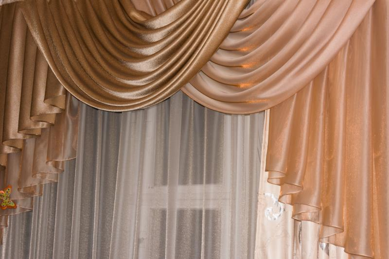 How To Make Waterfall Valance Curtains DIY Waterfall Valance