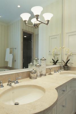 pleasing bathroom vanity options.  How to Resurface a Vanity
