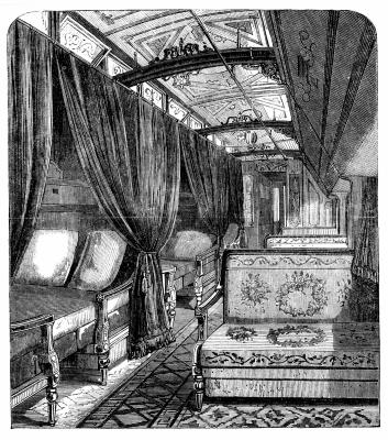 invention of the luxury sleeping car by george pullman synonym. Black Bedroom Furniture Sets. Home Design Ideas