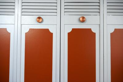 How To Put Fabric In Louvered Doors Home Guides Sf Gate