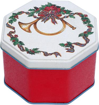 How to decorate with christmas tins home guides sf gate for Decorating tins for christmas