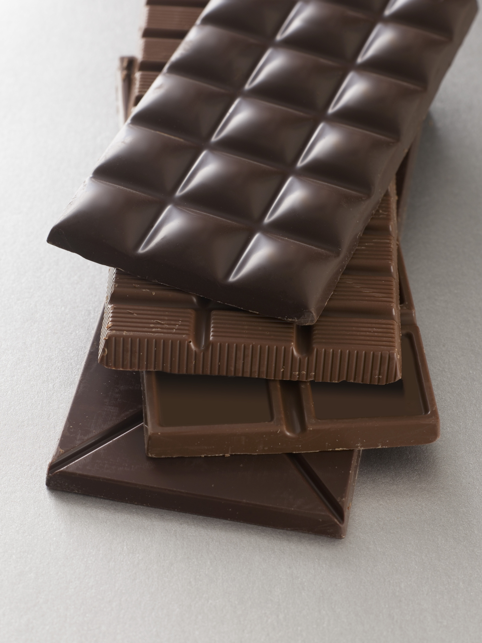 Dark chocolate has more antioxidants than milk chocolate.