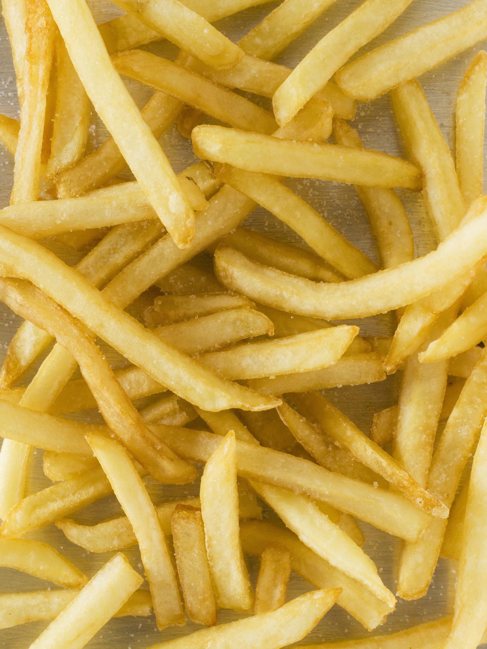 Como calentar papas fritas en el microondas