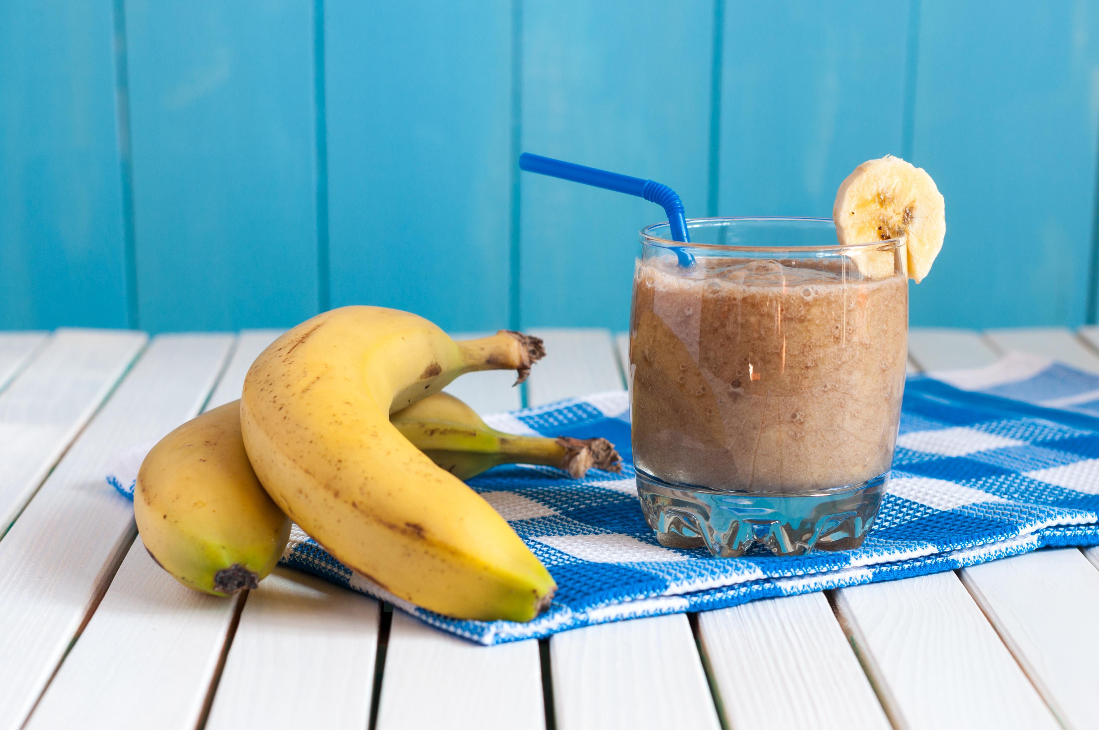 Как сделать банановый коктейль: 7 13