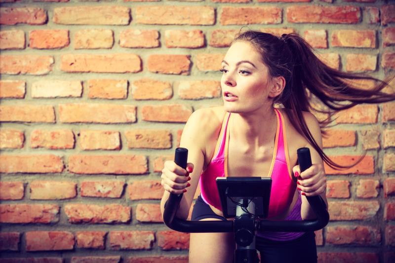 can riding a stationary bike burn belly fat