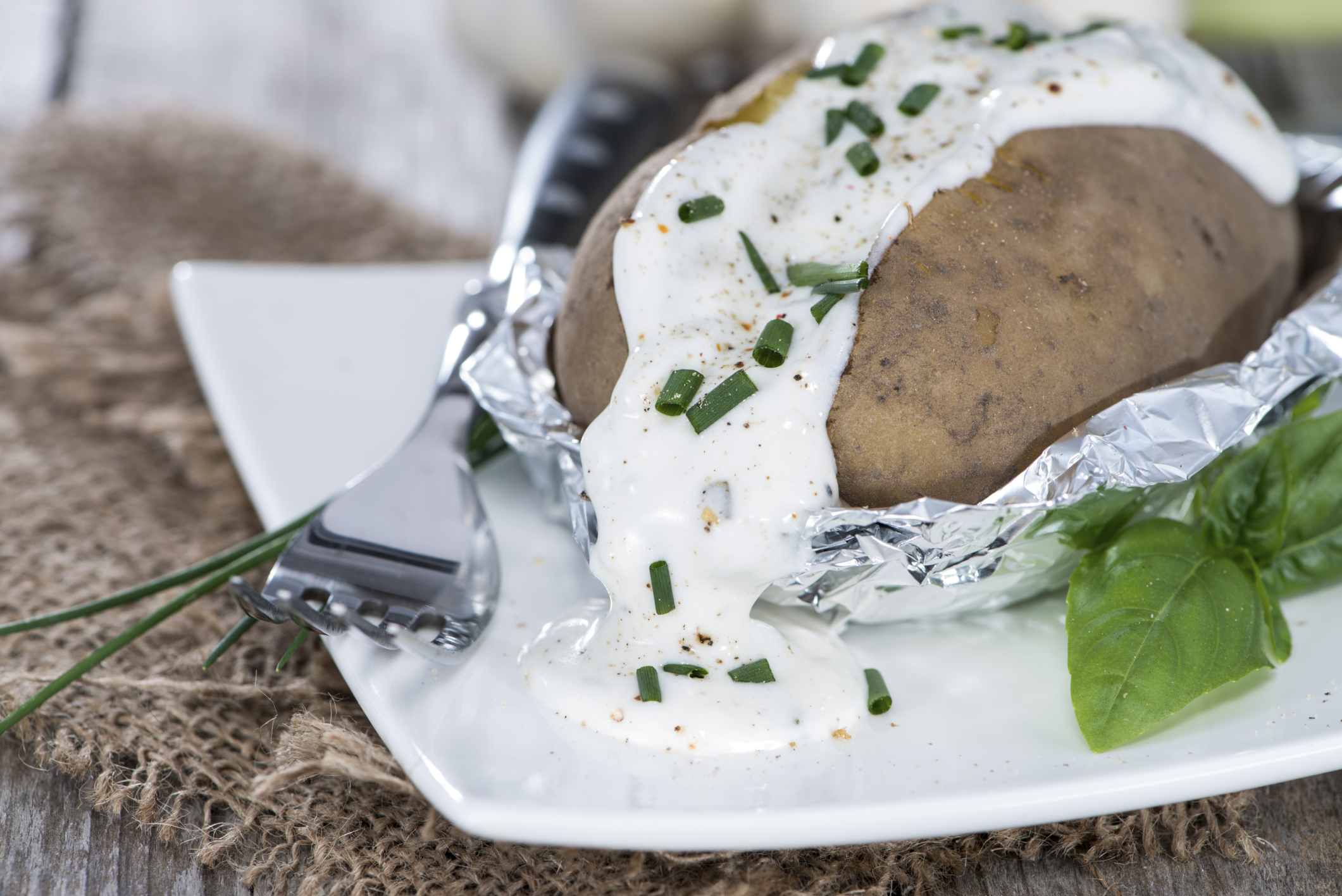 How to bake a potato in a convection oven wrapped in aluminum foil how to bake a potato in a convection oven wrapped in aluminum foil livestrong ccuart Choice Image