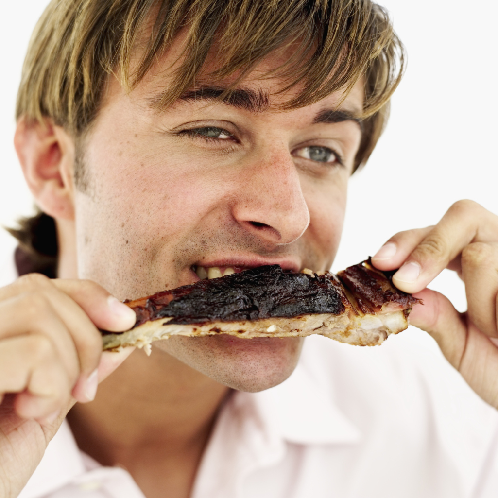 Young men need slightly less protein than older men.