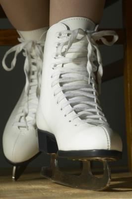 how to clean rust of guards ice skates