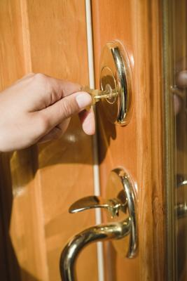 How To Install A Deadbolt Lock On A Door Without Cutouts