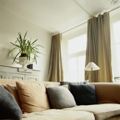 Hanging Curtains From the Ceiling vs. a Window | Home Guides | SF Gate