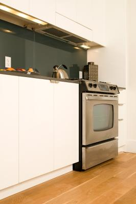 how to reface a kitchen cabinet with contact paper home guides sf gate. Black Bedroom Furniture Sets. Home Design Ideas