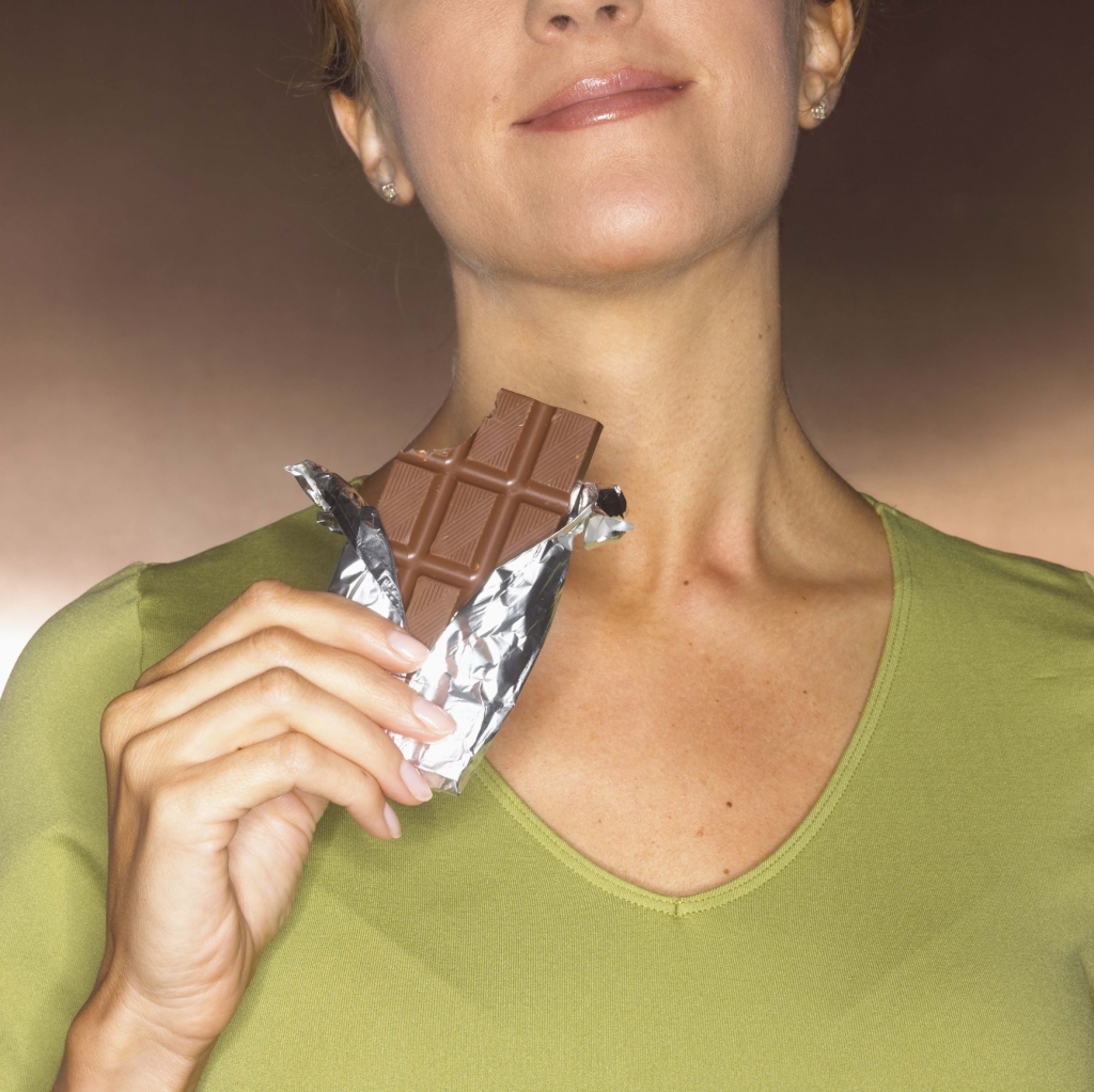 A candy bar has as much sugar as a can of soda.