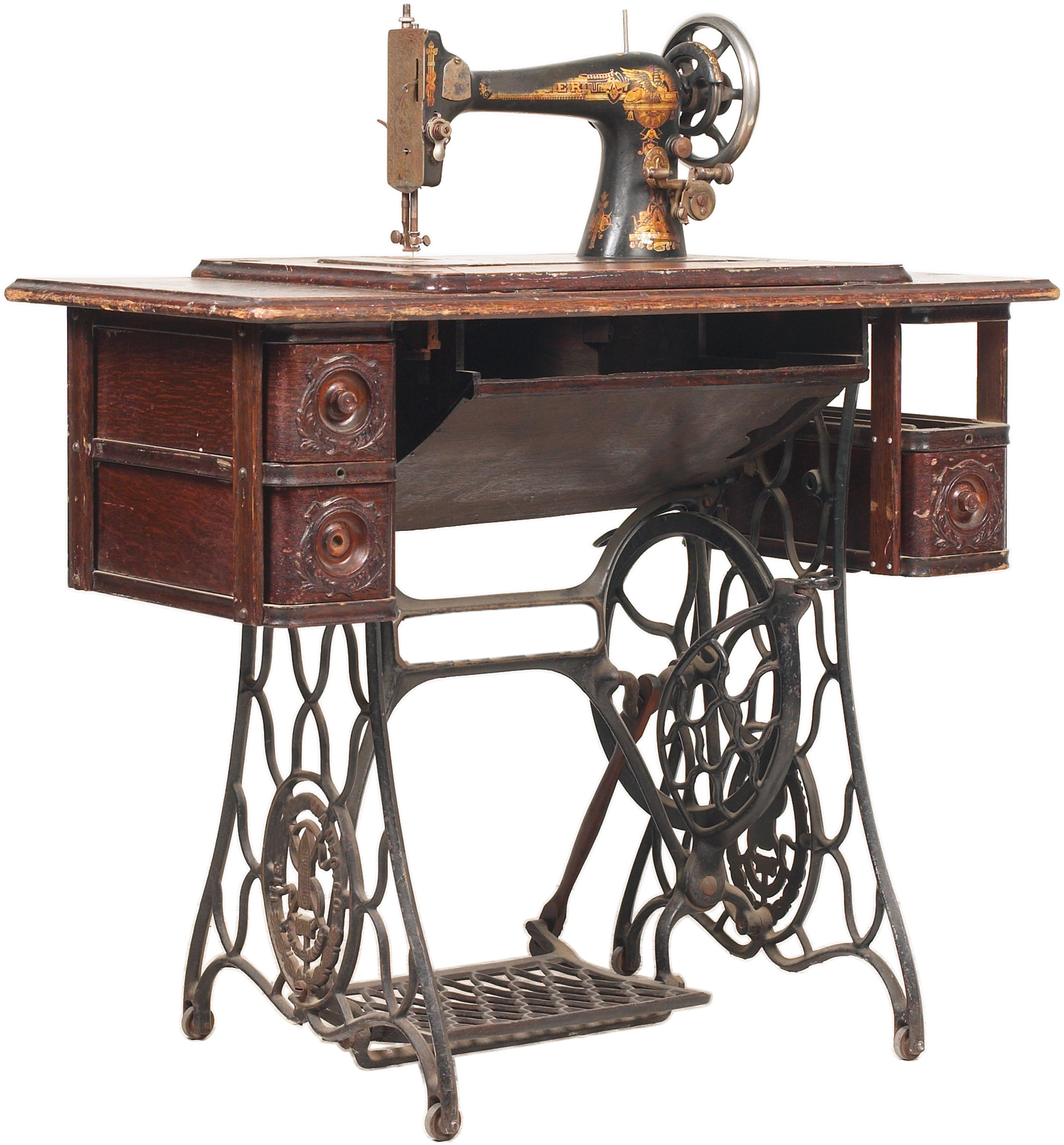 Value of Old Singer Sewing Machines | Our Pastimes