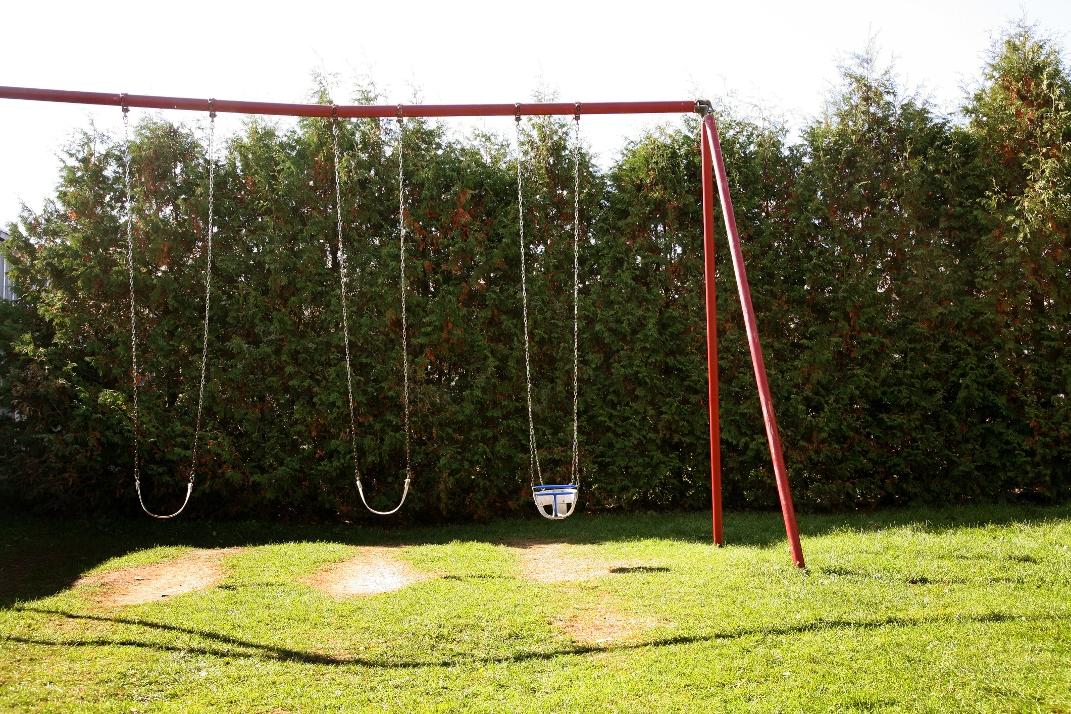 Diy wooden swingset on a budget how to adult for Diy adult swing set