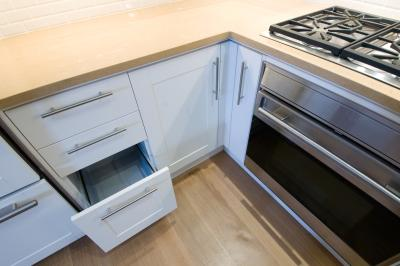 How to replace wooden drawer slides with undermounts for Ready made kitchen drawers