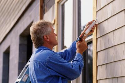 How to caulk the window trim on lap siding home guides - Wood filler or caulk for exterior trim ...
