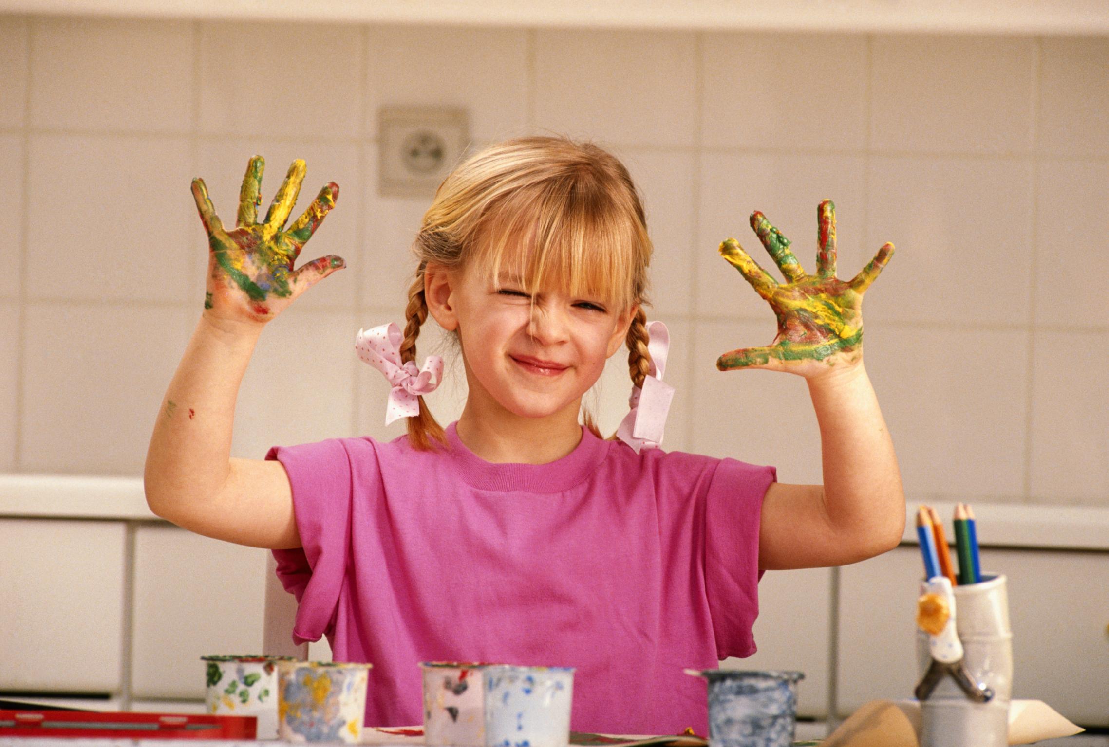 actividades de mezclar pinturas de colores para preescolar ehow en espaol