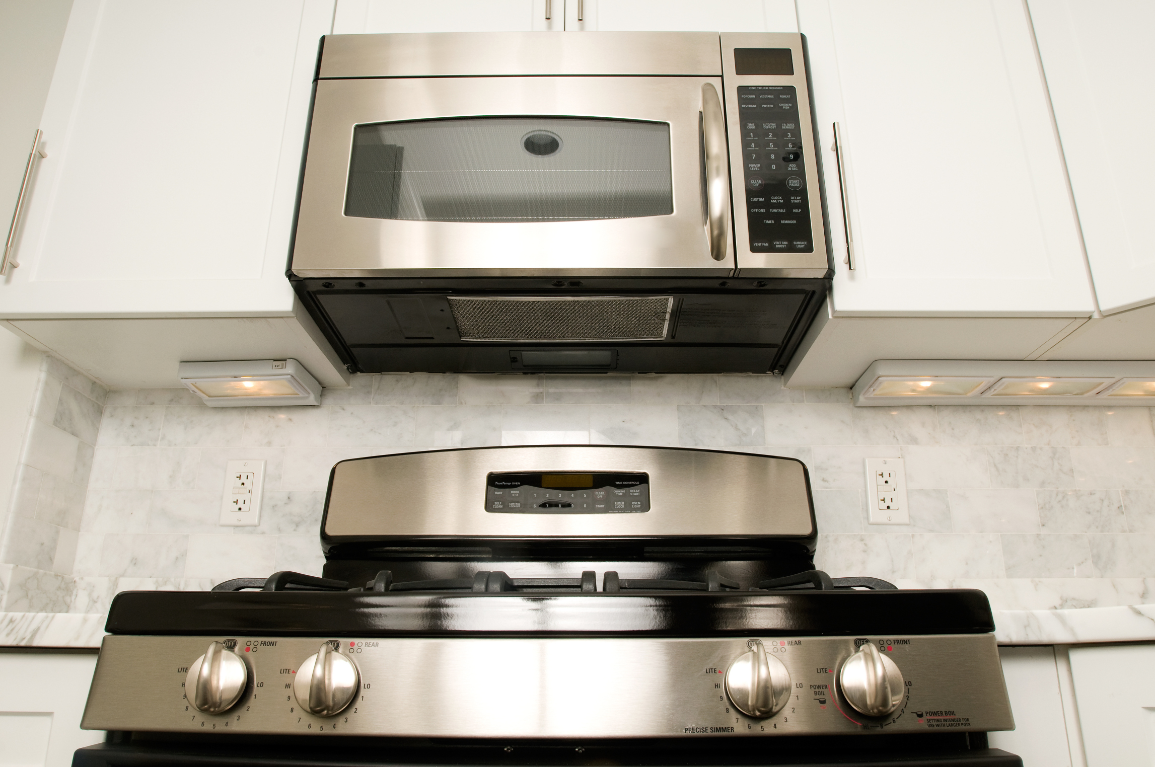 How to remove the upper vent on a built in microwave ehow uk for Stove top with built in vent