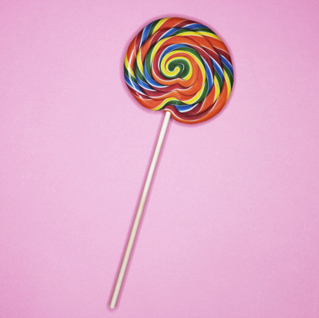 Lollipops have no nutritional value.