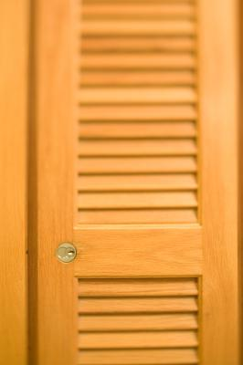 How To Turn A Louvered Window Shutter Into A Cabinet Door Home Guides Sf Gate