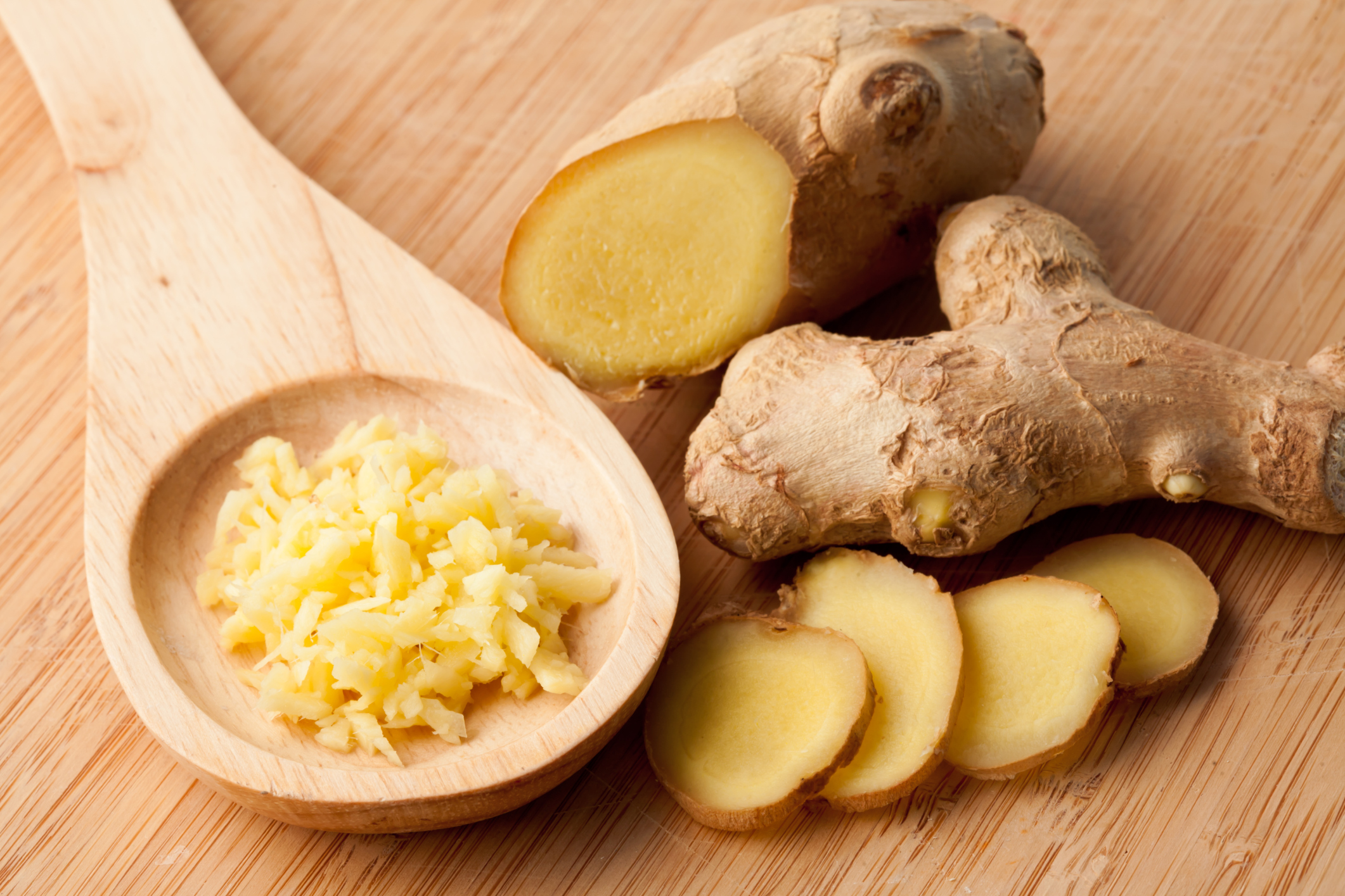 Eating ginger root during pregnancy
