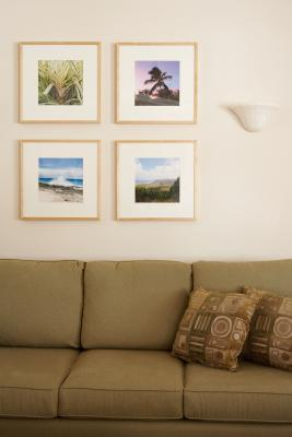 Wall Sconces Above Couch : How to Decorate With Sconces Above a Sofa Home Guides SF Gate