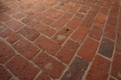 How To Lay Brick Flooring For Home Interior Home Guides