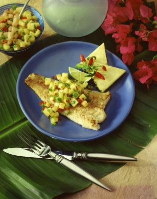How to bake a frozen halibut fillet our everyday life for How to cook halibut fish