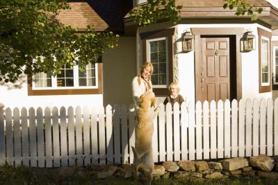 Building a fence is the best way to keep a dog in your yard.