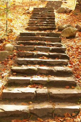 C mo planificar un dise o sencillo y construir una for Escalera exterior de piedra