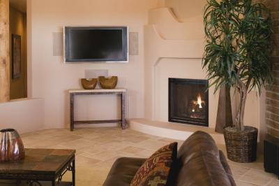 How To Design A Corner Fireplace With A Cathedral Ceiling