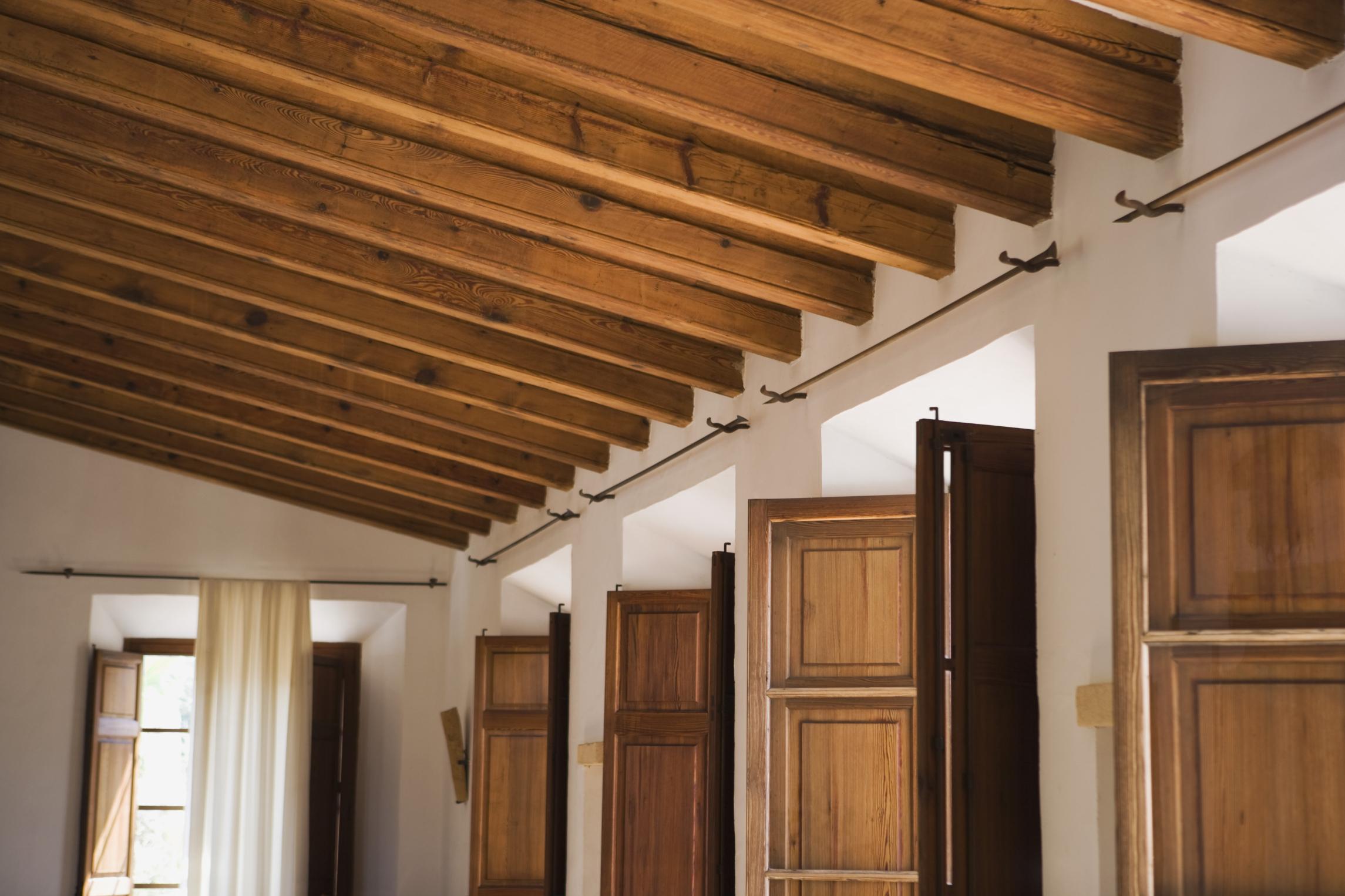 Como hacer un tejado de madera sndwich tah detalle de for Tejados vigas de madera