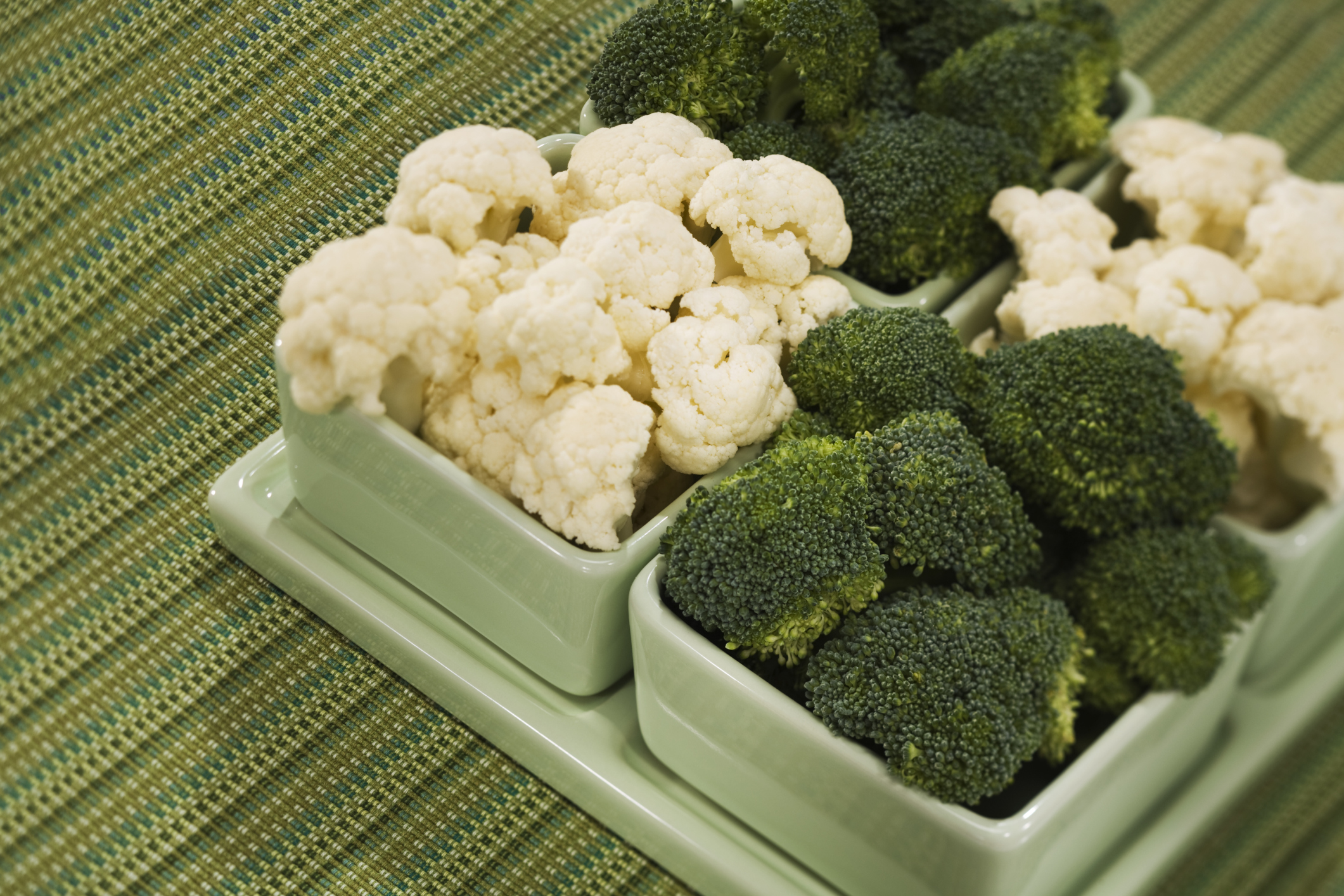 Broccoli and cauliflower are loaded with phytochemicals.