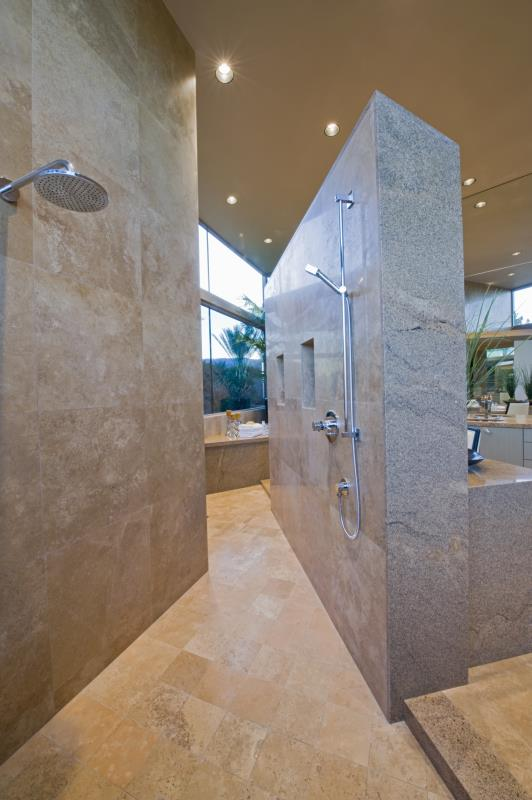 How To Make A Doorless Shower In Place Of A Tub Home