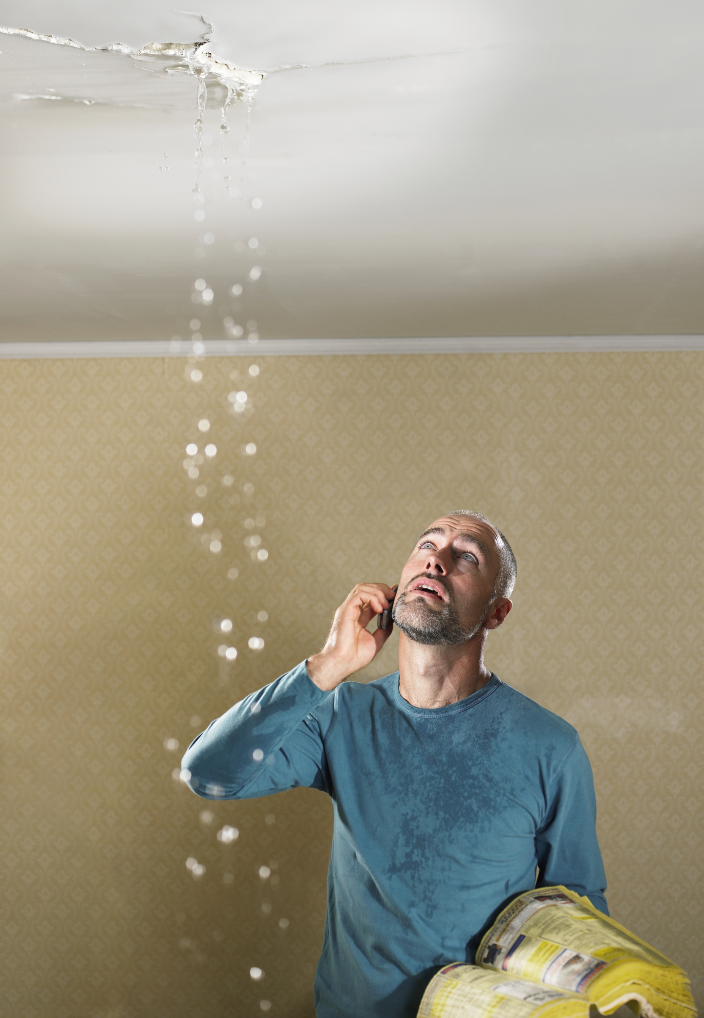 How to identify the source of a ceiling leak home guides Leak in ceiling when it rains