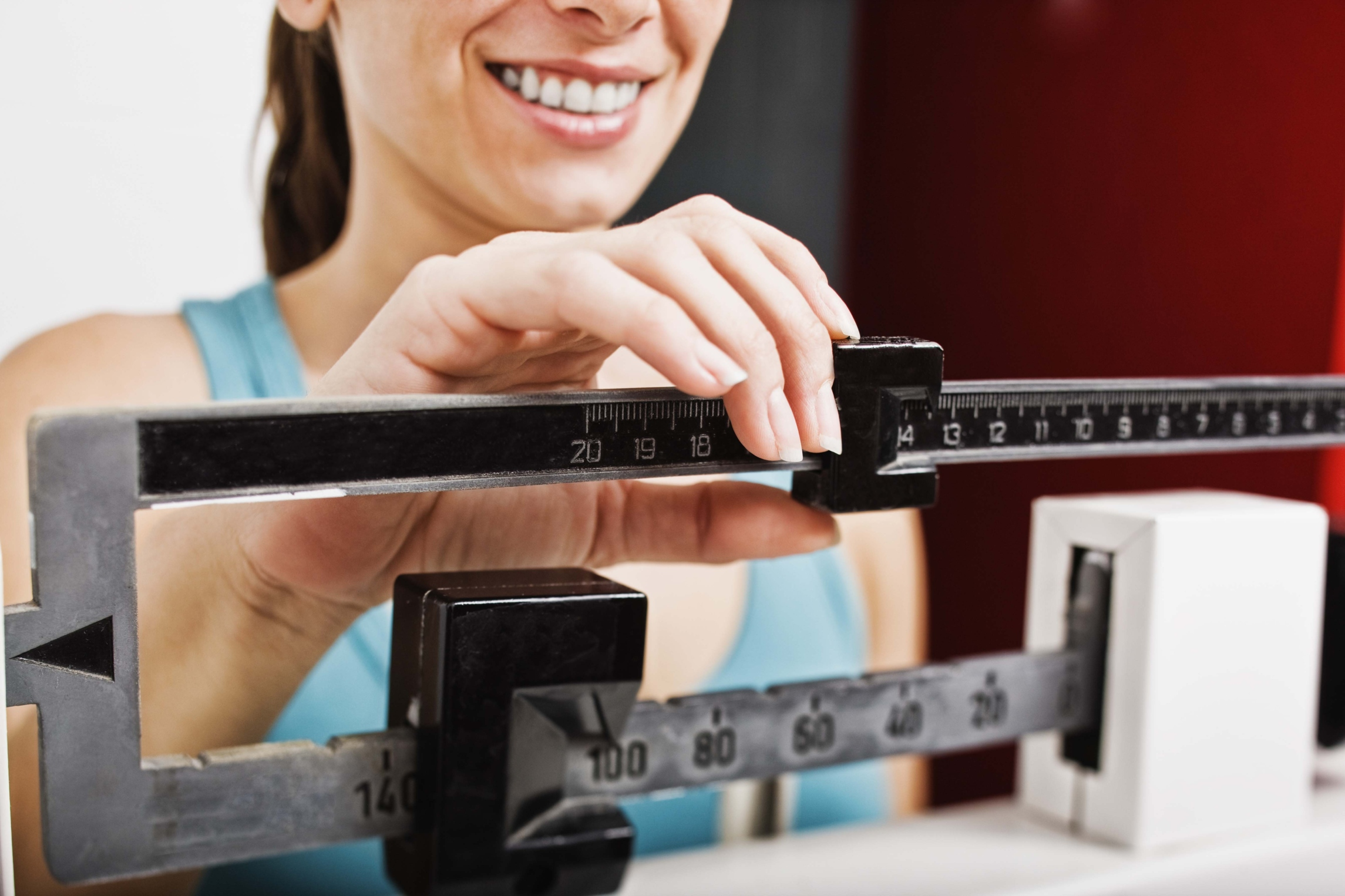 Little by little, calorie cutting peels the pounds.