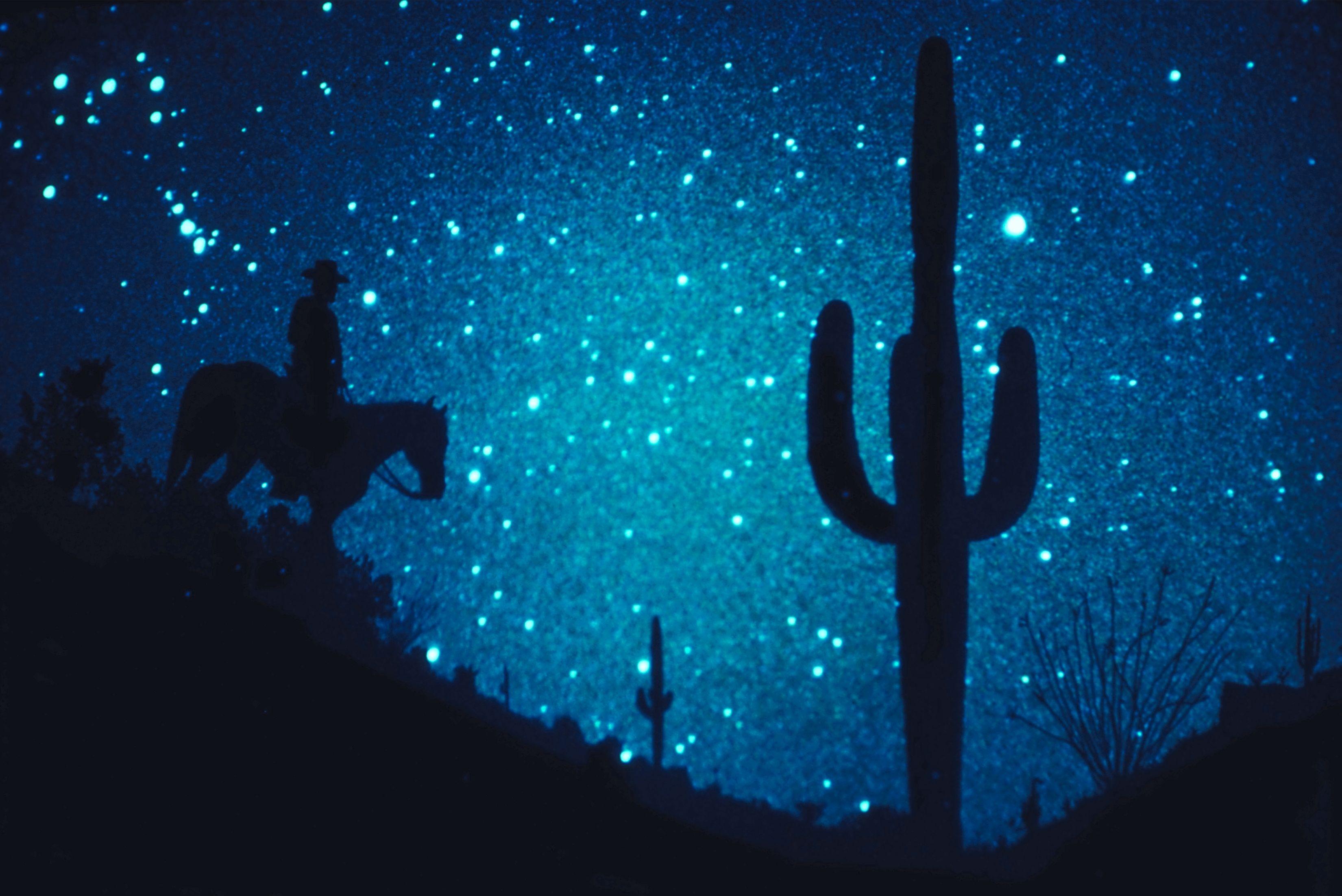 Indicaciones para pintar una noche estrellada  
