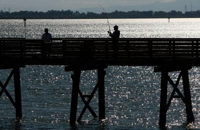 Fall pier fishing in california usa today for Do you need a fishing license on a pier