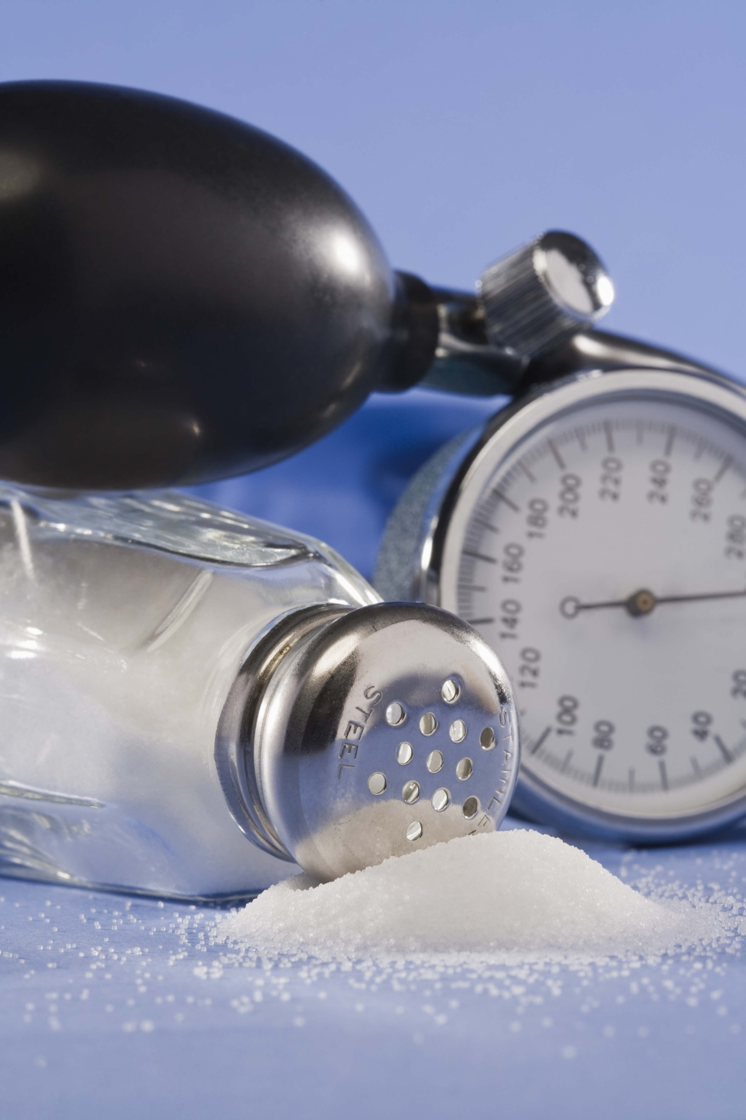Too much sodium can cause your blood pressure to increase.