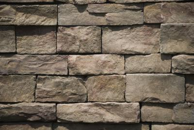Faux Stone Retaining Wall