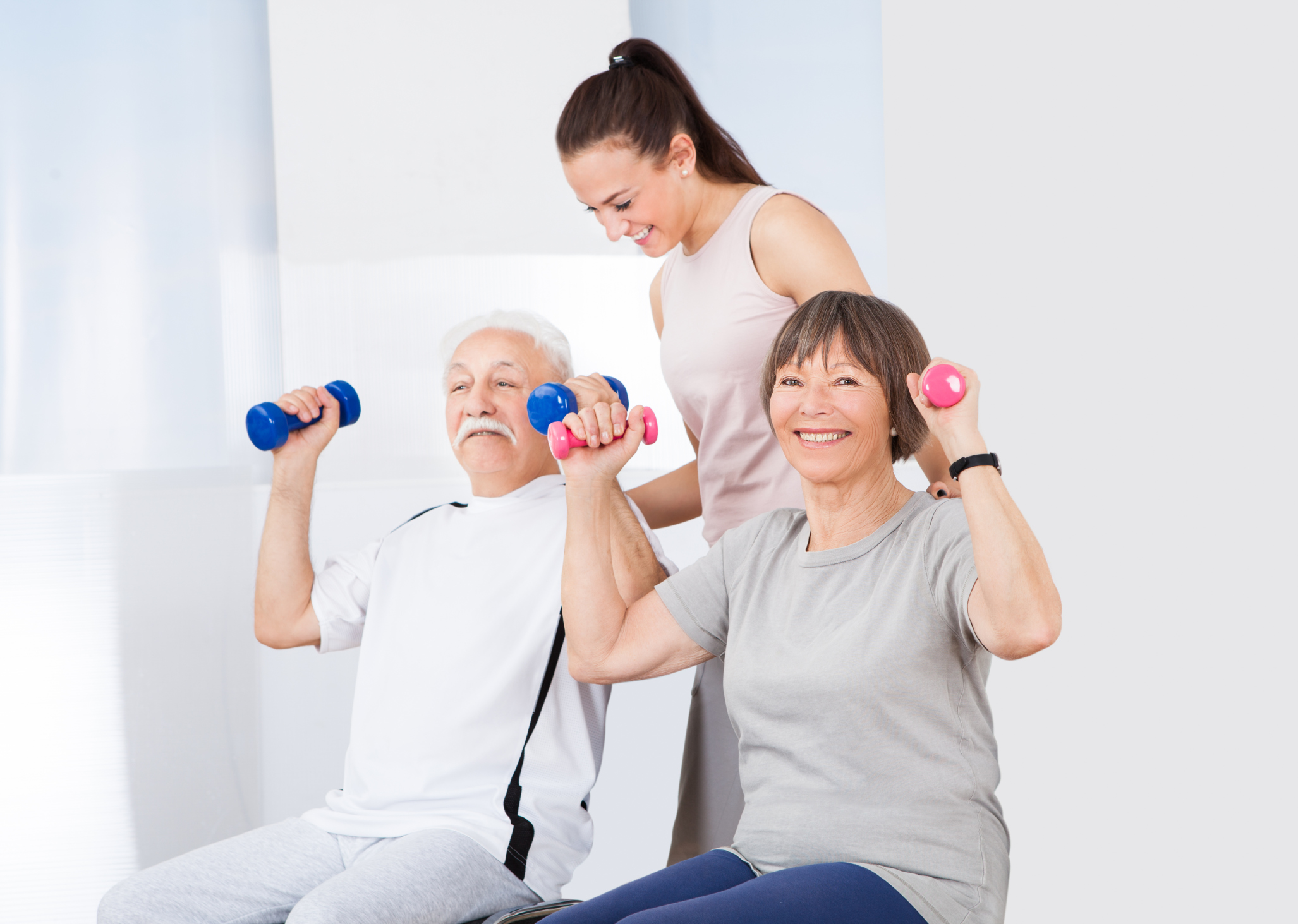 Simple Chair Exercises for Senior Citizens