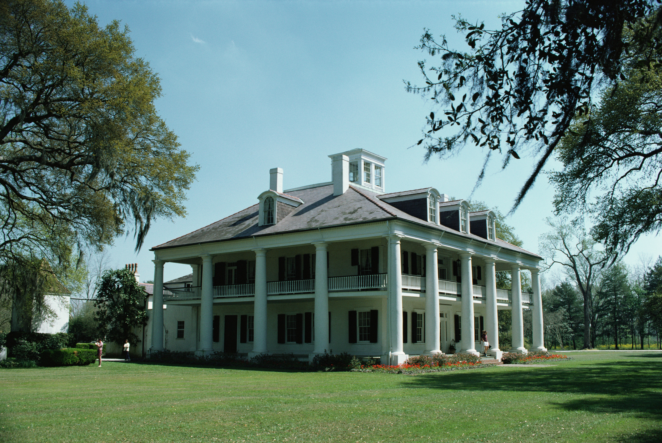 Great homes of the south the big house at castle hill Louisiana plantation house plans