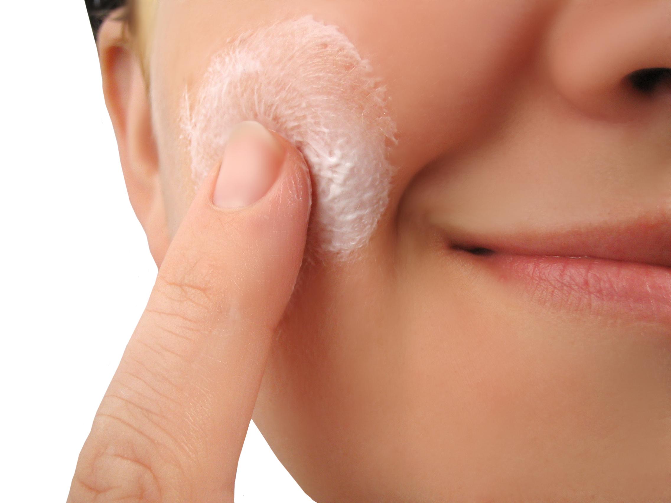 Good turgor: the skin is elastic and elastic