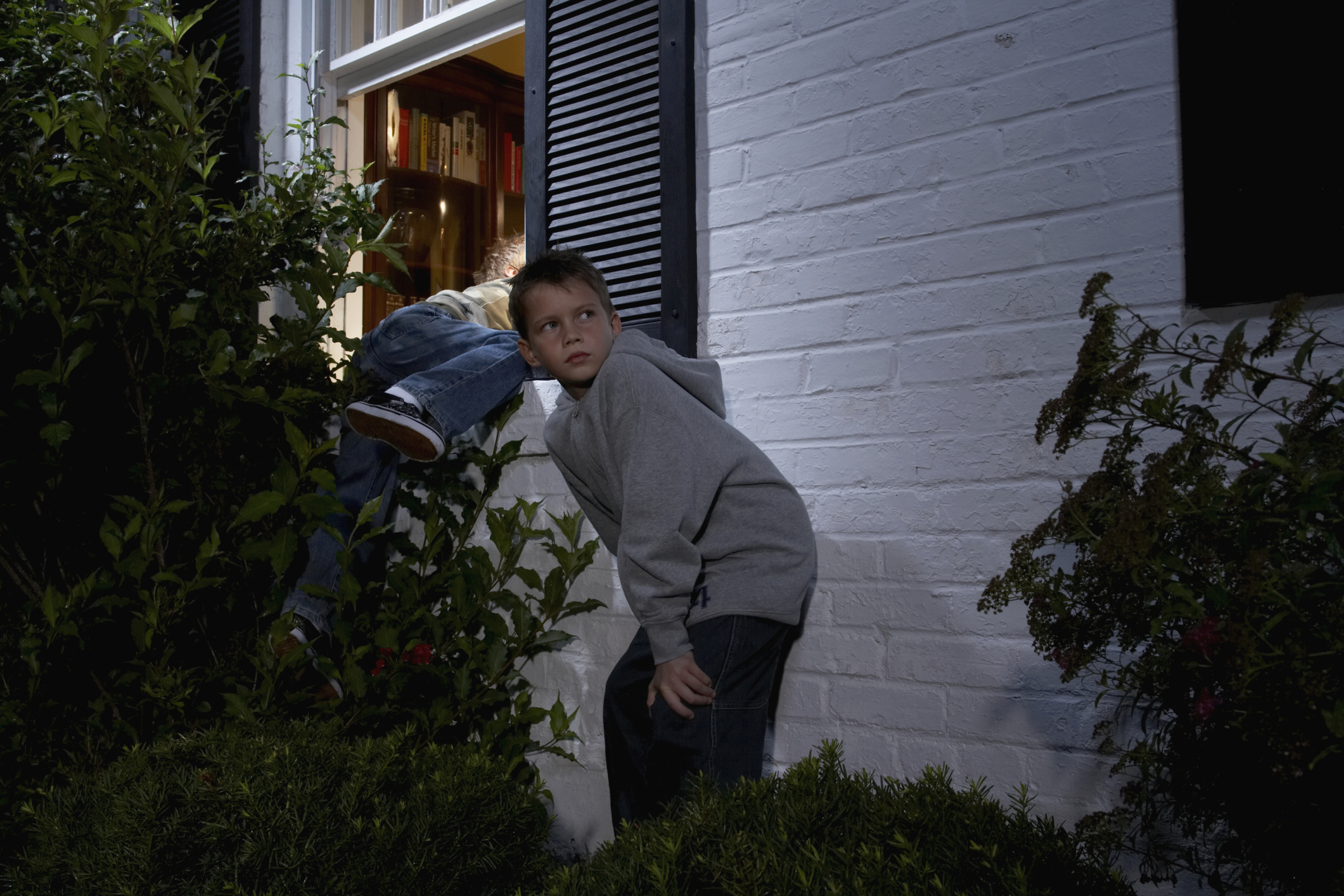 how to keep kids from sneaking out healthfully
